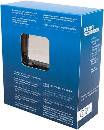 Intel BX80677I57600K 7th Gen Core Desktop-Prozessor (überholt) Schwarz