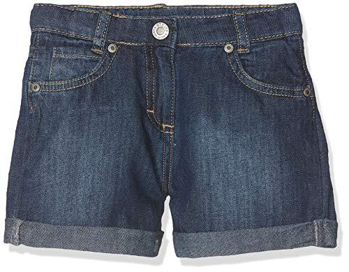 Steiff Steiff Mädchen Jeans Shorts, Blau (Blue Denim|Blue 0013), 104