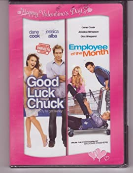 DVD Valentine's Day 2 Pack DVD (Good Luck Chuck, Employee of the Month) Book