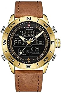 Naviforce Dress Watch For Men Analog Leather - 1