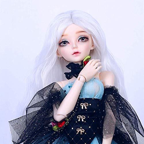 1/4 Delicado BJD Doll Minifee Fairyland 41CM/16.1 Inch Resina Avanzada Ball Joints SD Muñecas con Cambio de Ropa Zapatos Accesorios Pelucas Maquillaje DIY Juguetes