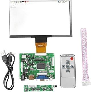 LCD Display Module Kit, 7 inch LCD TFT Display 1024x600 HDMI VGA Monitor Screen Kit for Raspberry Pi 3/2, Computer Monitor...