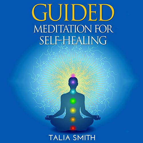 『Guided Meditation for Self-Healing』のカバーアート