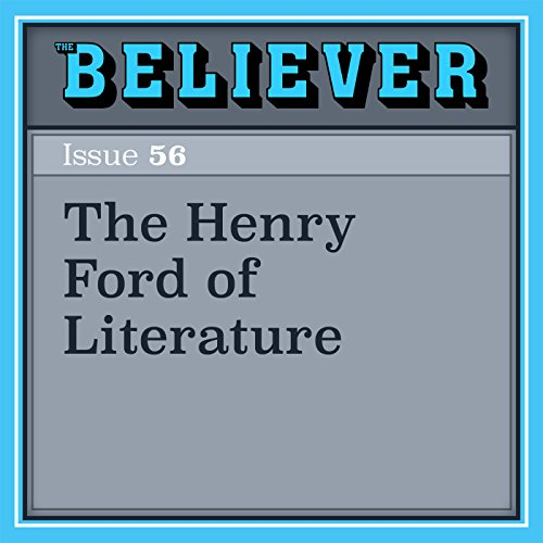 The Henry Ford of Literature audiobook cover art