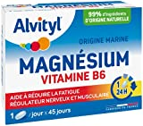 Alvityl - Magnésium + Vitamine B6 - Origine marine - Régulateur Musculaire et...