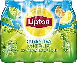 Lipton Green Tea, Citrus (12 Count, 16.9 Fl Oz Each)