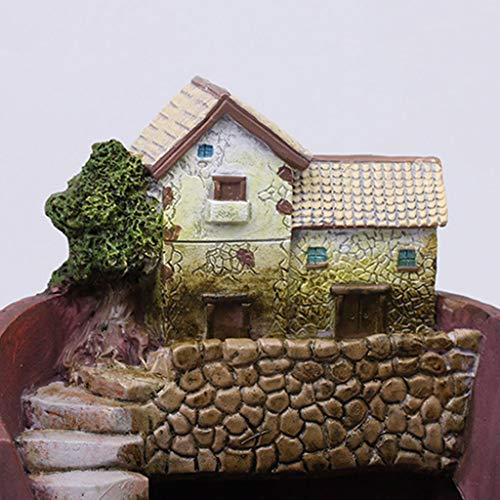 ruiruiNIE Resina carnosa Maceta decoración Creativo Nuevo jardín