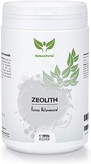 NaturaForte Polvo de zeolita 500g - Clinoptilolita 95%,