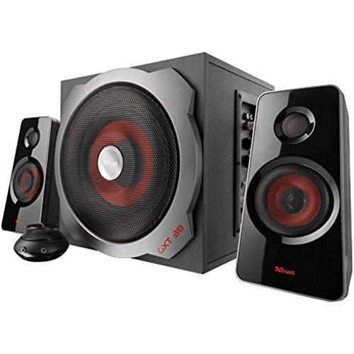 Trust GXT 38 2.1 Lautsprecher System 120W schwarz/rot