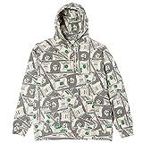 RIPNDIP リップンディップ パーカー 猫 ネコ グッズ Money Bag Hoodie 100ドル 総柄 リッピンディップ プルパーカー スウェット RND3713
