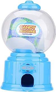 Machine à gommes en plastique, machine à bonbons pour enfants Portable distributeur de gomme à bulles rouge nouveauté amus...