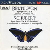 Symohony No.5 / Unfinished Symphony: Munch / Boston Symphony