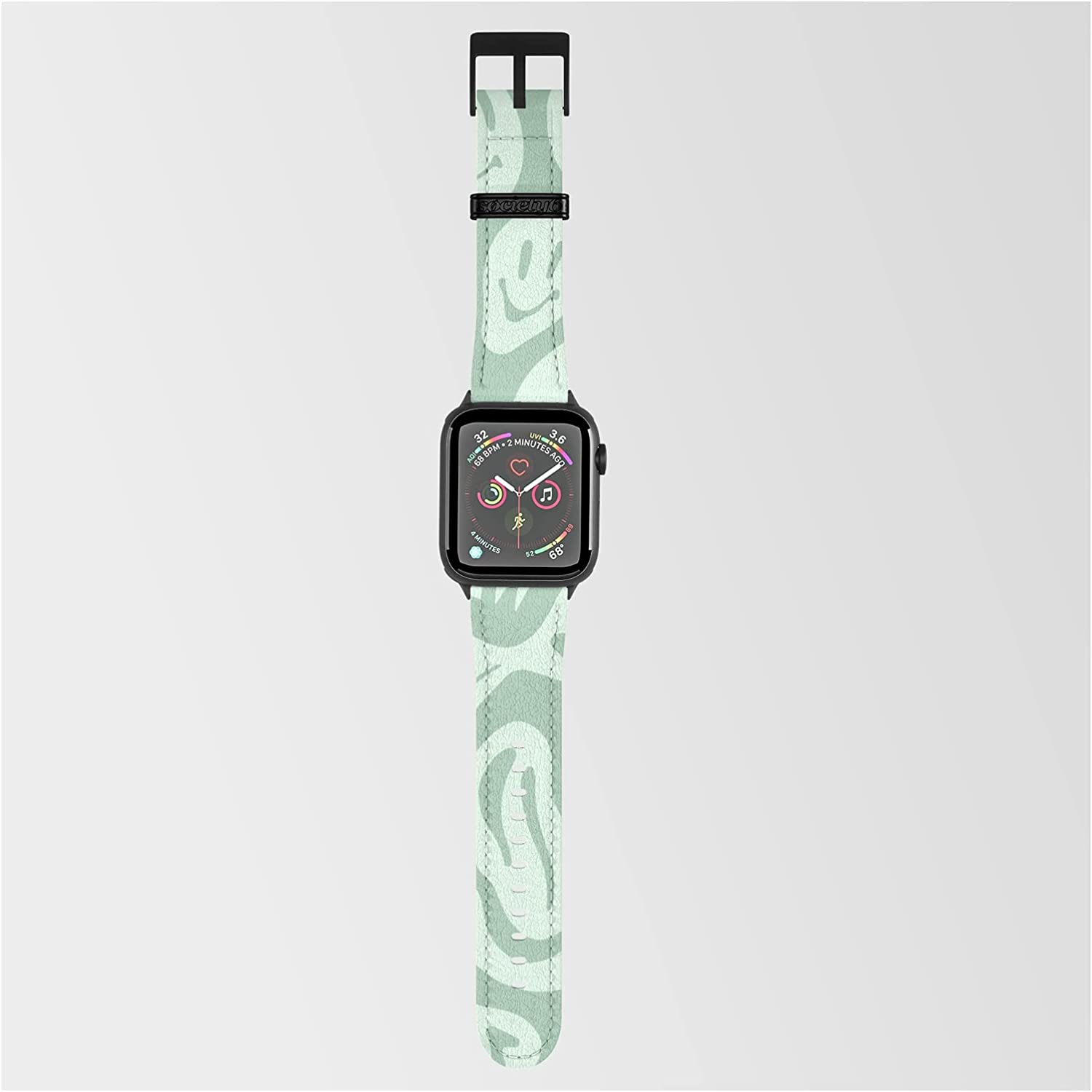Free shipping / New Liquify Minty Fresh by More Smartwatch Preston on Credence Jamie Band