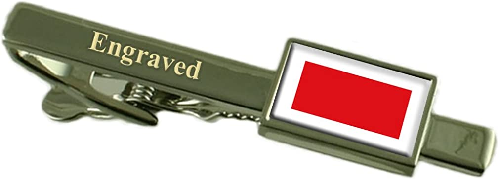 Rass al Khaimah Flag Limited Safety and trust price Tie Personalised Engraved Clip