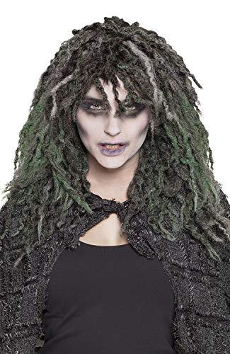Boland 85991 pruik Swamp Zombie, meerkleurig