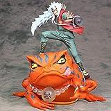 Lupovin Nuevo Anime Naruto 23cm Gama-Bunta Rana Jiraiya Itachi Uchiha GK Estatua Ver.1/7 Escala de P...