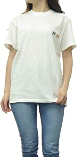 [MAISON KITSUNE(メゾンキツネ)] ラウンドネックTシャツ BU00103KJ0008 レディース [並行輸入品]