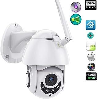 Cámara WiFi al Aire Libre 1080p 64gb 2a Power Speed Dome Security IP Camera Exterior IR Home Surveilance