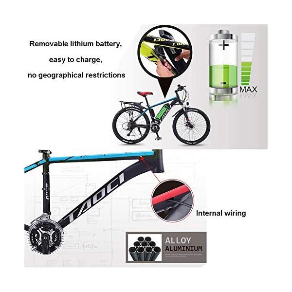 5149YFmvz3L. SS600  - 26 Zoll Elektrofahrrad Citybike E-Bike, 36V 350W Fatbike MTB, Mountainbike, All Terrain Commute Fat Tire Ebike Für Männer Frauen Damen