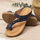 Zapatillas de Verano Premium Ortopédicas para Mujer, Cómodas Zapatillas de...