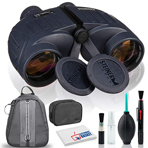 Review Of Steiner 7×50 Navigator Pro Binocular with Cleaning Kit, Tripod, and Padded Bag