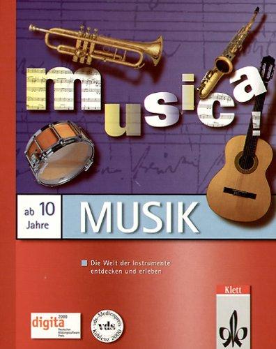 musica!, 1 CD-ROMDie Welt der Instrumente entdecken und erleben. Für Windows 95/98 oder MacOS System 7