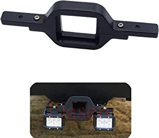 Dasen Universal Tow Hitch Receiver Light Bar Mount Bracket For Dual LED Cube/Work Lights Pod Backup Rear Reverse Truck Trailer SUV Off-Road