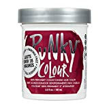 Punky Poppy Red Semi Permanent Conditioning Hair Color, Vegan, PPD and Paraben Free, lasts up to 25 washes, 3.5oz