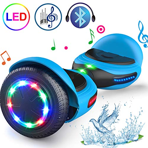 Why Should You Buy TOMOLOO Hoverboard with LED Light Two-Wheel Self Balancing Scooter with UL2272 Ce...