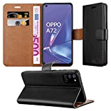 iPEAK For Oppo A72 Phone Case Leather Flip Stand Book Card