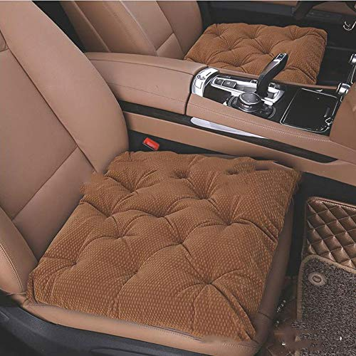 liangh Heat Car Seat Cover,12V Heated Seats Cushion,1 Pack Soft Comfortable Seat Warmer Pad,Drivers Heated Seats Pad to Relieve Fatigue and Warmth Body,Best Birthday Gifts for Him,Brown