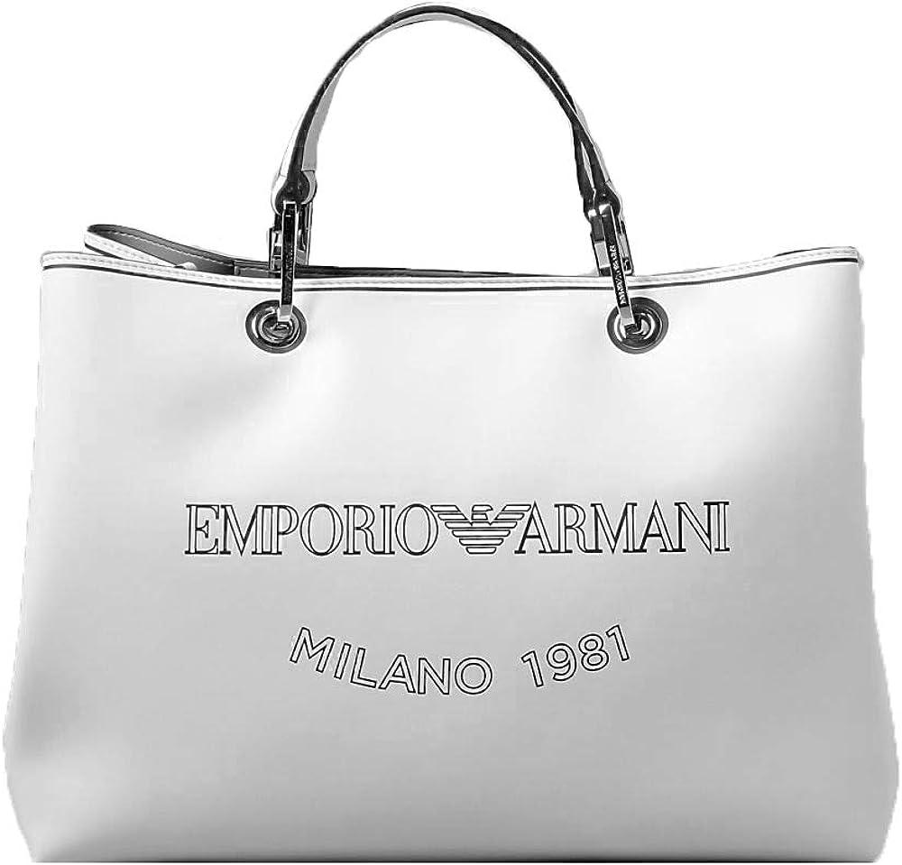 Emporio armani, borsa da donna, in ecopelle Y3D202Y270E