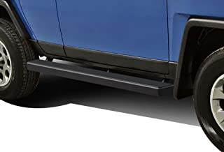 APS iBoard (Black Powder Coated 5 inches) Running Boards Nerf Bars Side Steps Step Rails Compatible with 2007-2014 Toyota FJ Cruiser Sport Utility 4-Door