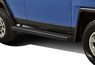 APS iBoard Running Boards 5 inches Matte Black Custom Fit 2007-2014 FJ Cruiser Sport Utility 4-Door (Nerf Bars Side Steps Side Bars)