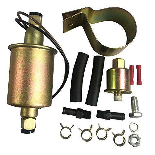 JDMSPEED New Universaql Electric Fuel Pump For Gas Diesel Marine Carbureted E8016S