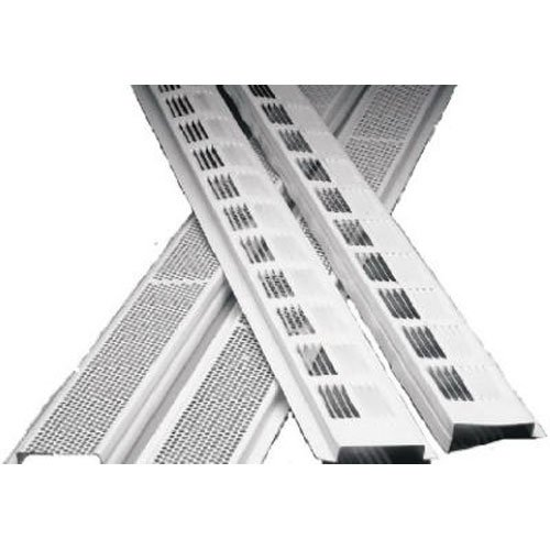 AIR VENT 84302 8' Aluminum Soffit Strip, White