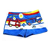 Onsinic Baby-Badehose Auto Print Cartoon Badeanzug Kinder Badeshorts Kinder Kleinkind Strand-Badebekleidung Pool Shorts Größe L