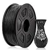 ABS Filament 1.75mm, Enotepad ABS 3D Printer Filament Black, Strength and Durable ABS Filament 1KG (2.2 lb)