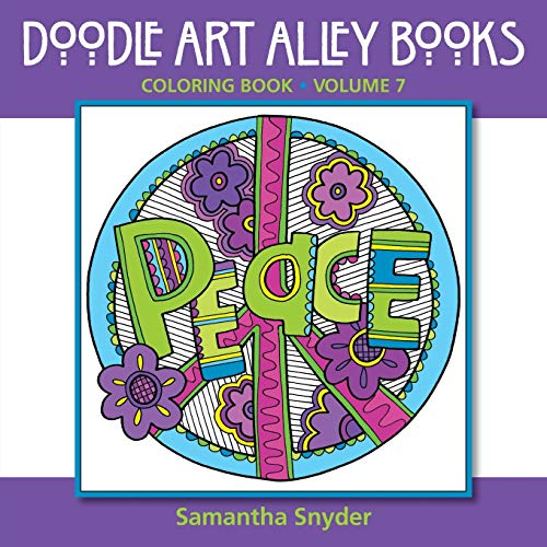 Easy You Simply Klick Peace Coloring Book Doodle Art Alley Books Volume 7 Download Link On This Page And Will Be Directed To The Free