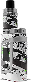 Skin Decal Wrap for Smok AL85 Alien Baby Baja 0018 Lime Green Vape NOT Included