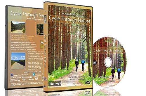 Radfahren in der Natur - Virtuelles Fahrrad Erlebnis für Laufband Training und Heimtrainer Workouts
