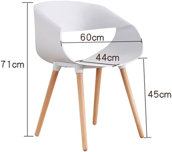 Chaise de salle à manger SLL- Fauteuil Moderne élégant et Minimaliste créative Moderne (Color : C) B