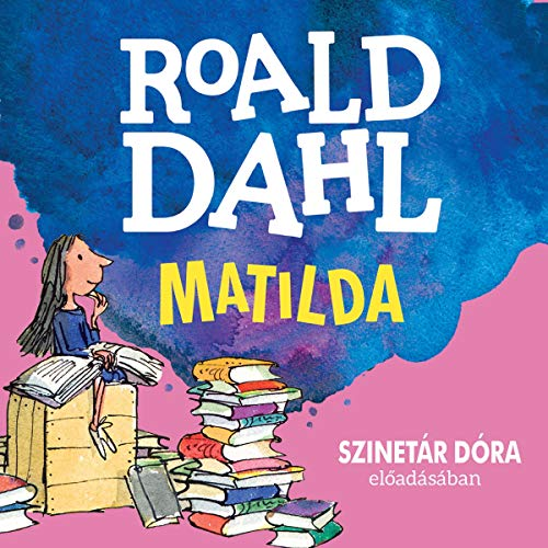 Matilda (Hungarian edition) cover art