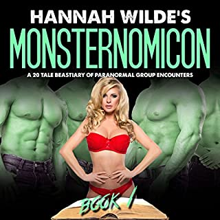 Hannah Wilde's Monsternomicon: A 20 Tale Bestiary of Paranormal Group Encounters audiobook cover art