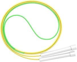 HFDA springtouw zonder knopen beginner fancy touw (geel-groen-hoogte 1,5-1,7 meter)