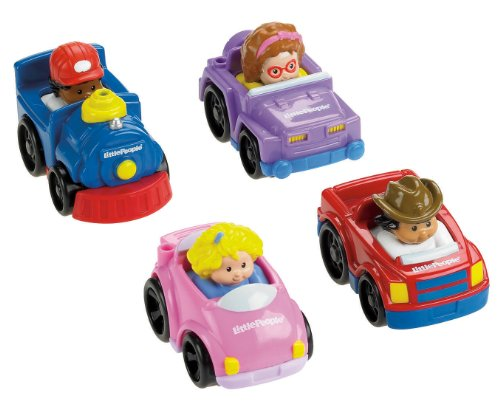 Product Image of the Fisher-Price Little People Wheelies All About Trucks