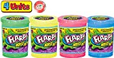 JA-RU Flarp Noise Putty Scented (4 Units Assorted) Squishy Sensory Toys for Easter, ADHD Autism Stress Toy, Great Party Favors Fidget for Kids and Adults Boys & Girls. Plus 1 Bouncy Ball 10041-4p
