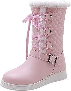 FANIMILA Women Fashion Short Boots Pull On Winter Boots
