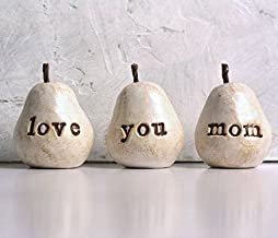 Gift for Mom, Love You Mom Pears, Mother Birthday, Perfect Present for your Mothers