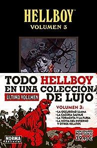 HELLBOY EDICION INTEGRAL VOL.3 par Mike Mignola